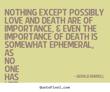 Quotes About Love And Death 10