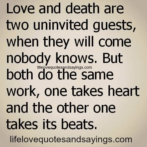 Quotes About Love And Death 11