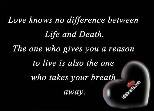 Quotes About Love And Death 19