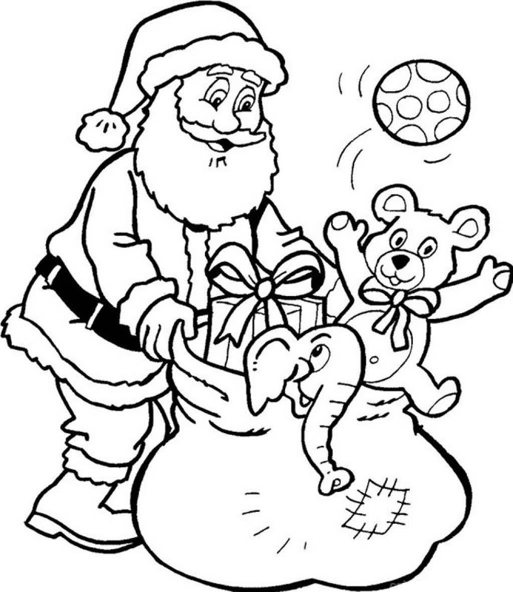 Santa Claus Coloring Pages Image Picture Photo Wallpaper 13