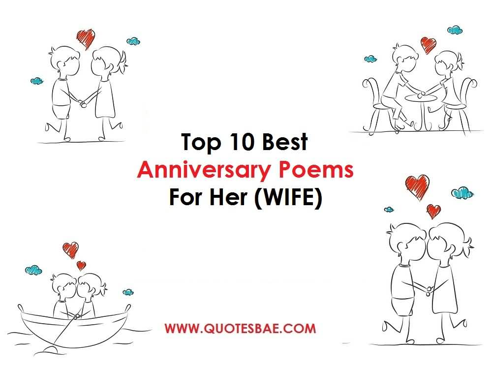 Top 10 Best Anniversary Poems For Her (WIFE)
