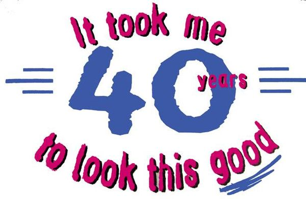 Very 40th Birthday Images Graphics Free Meme