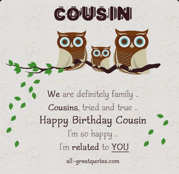 Very Funny Birthday Cards for Male Cousins Memes