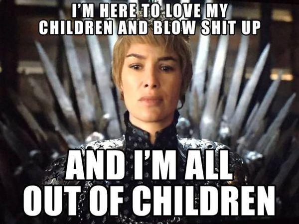 Very Funny Game of Thrones Memes Joke