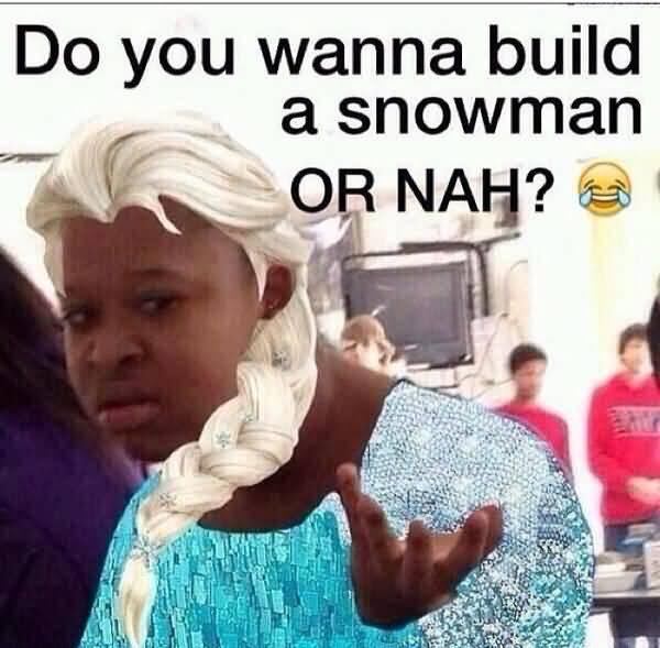 Very funny black girl meme picture