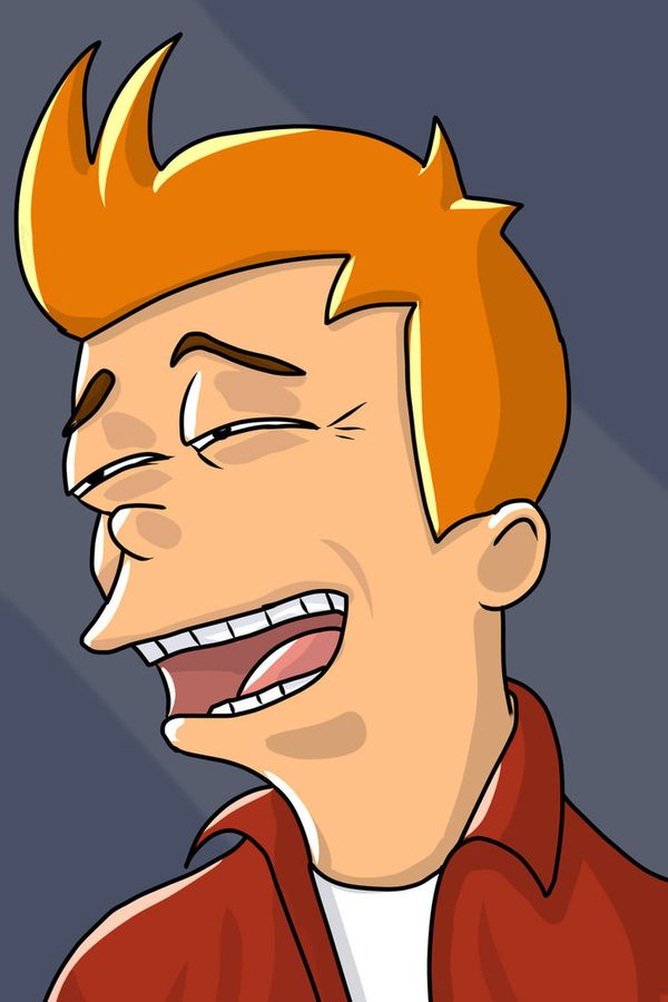 Very funny fry face from futurana meme photo