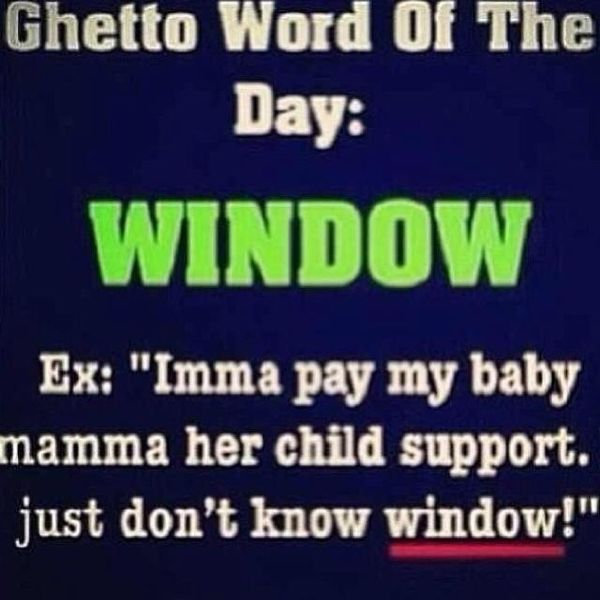 Very funny ghetto quotes meme