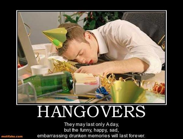 Very funny hangover pictures graphic