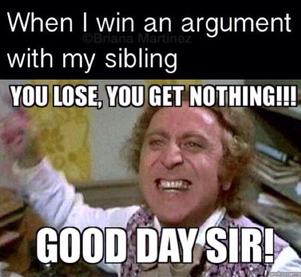 Amusing Willy Wonka Captions Joke