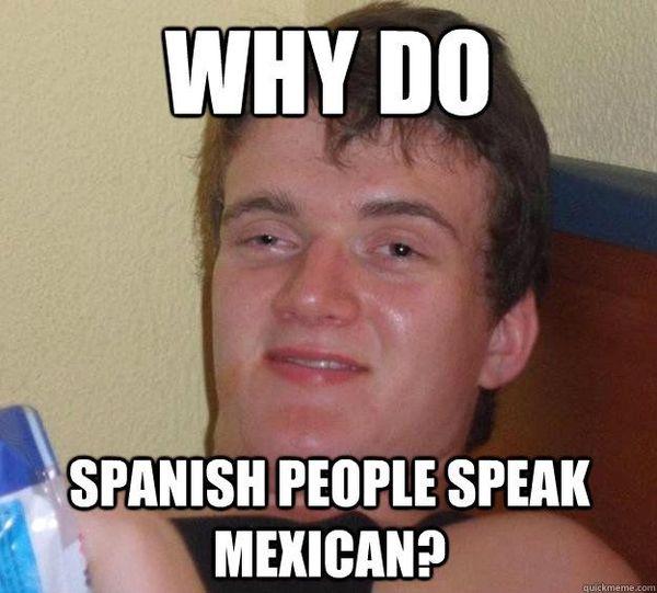 Amusing spanish people memes joke