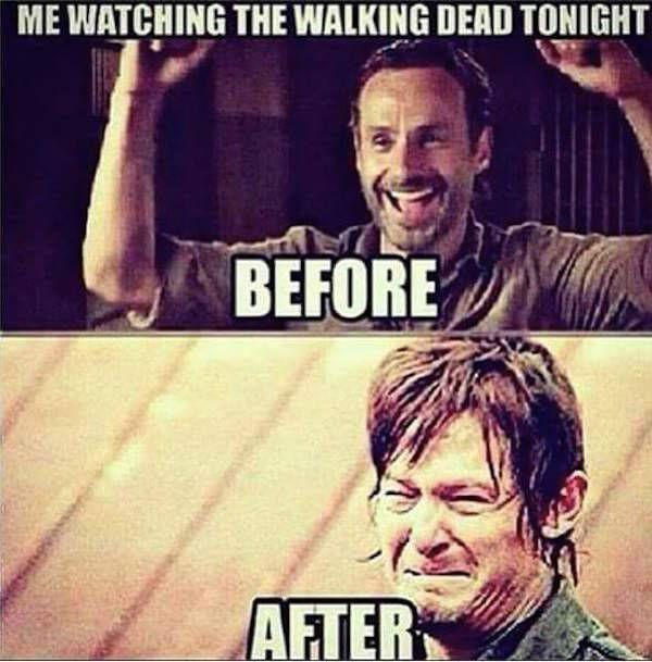 Amusing walking dead season 7 memes photo