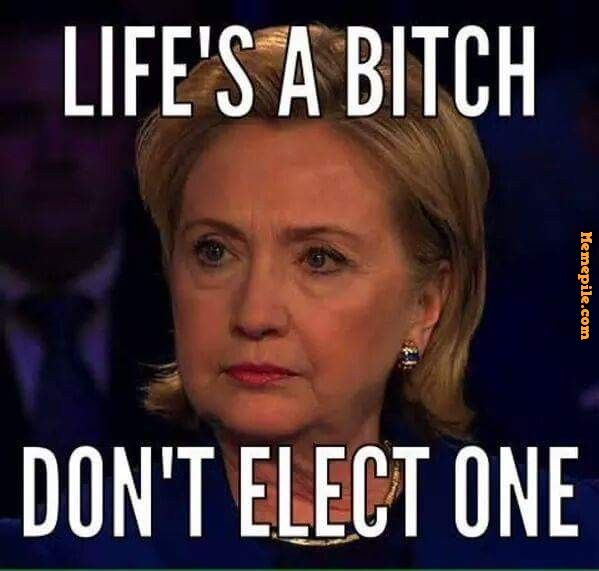 Anti Hillary Memes Funny Image Photo Joke 11