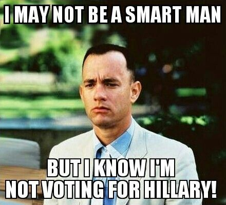 Anti Hillary Memes Funny Image Photo Joke 13