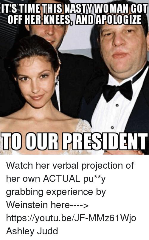 Ashley Judd Meme Funny Image Photo Joke 06