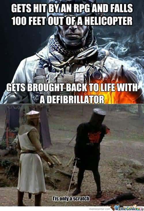 Battlefield Meme Funny Image Photo Joke 07