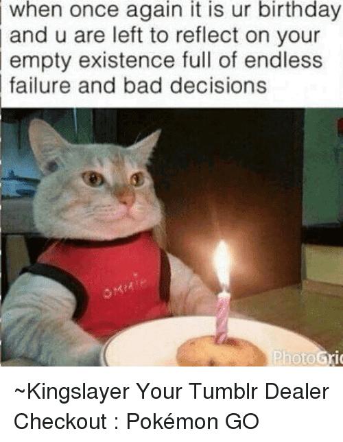 Birthday Meme Tumblr Funny Image Photo Joke 14