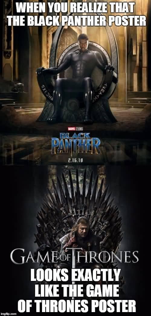 Black Panther Meme Funny Image Photo Joke 01