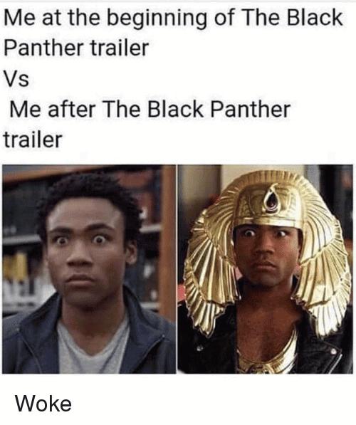 Black Panther Meme Funny Image Photo Joke 07