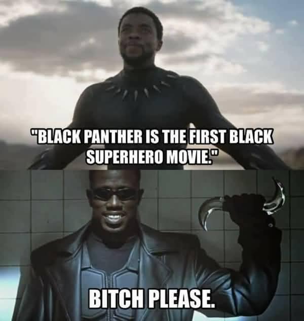 Black Panther Meme Funny Image Photo Joke 10