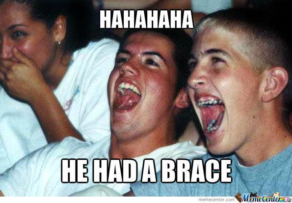 Brace Face Meme Funny Image Photo Joke 15