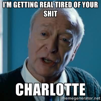 Charlotte Meme Funny Image Photo Joke 06