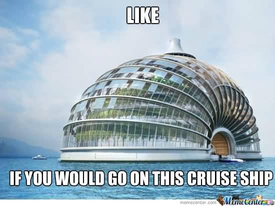 Cruise Ship Meme Funny Image Photo Joke 03