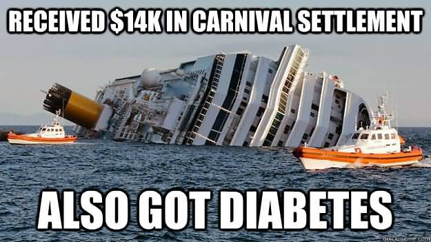 Cruise Ship Meme Funny Image Photo Joke 04