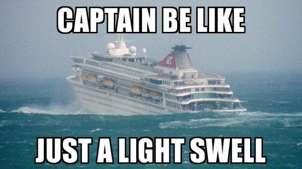 Cruise Ship Meme Funny Image Photo Joke 06