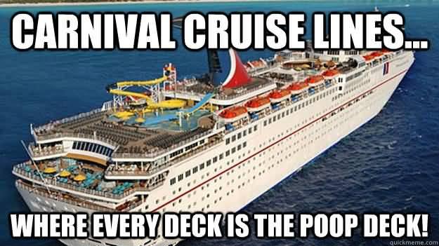 Cruise Ship Meme Funny Image Photo Joke 08