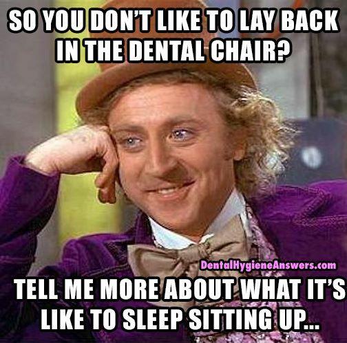 Dental Hygiene Meme Funny Image Photo Joke 01
