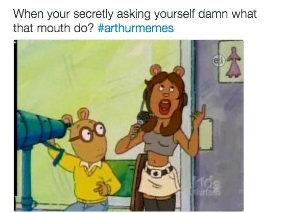 Dirty Arthur Meme Funny Image Photo Joke 05