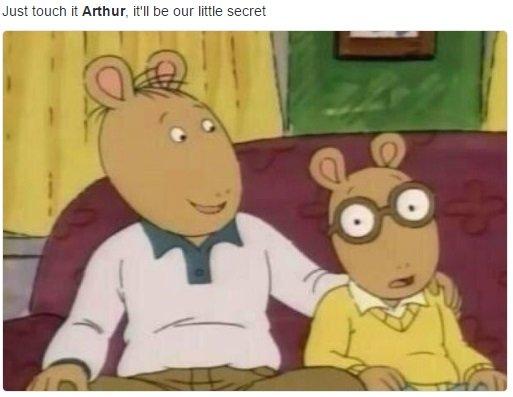 Dirty Arthur Meme Funny Image Photo Joke 09
