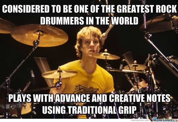 Drummer Meme Funny Image Joke 15