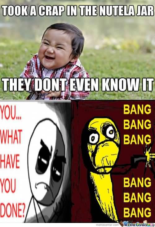 Evil Toddler Meme Funny Image Photo Joke 04
