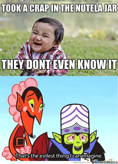 Evil Toddler Meme Funny Image Photo Joke 13