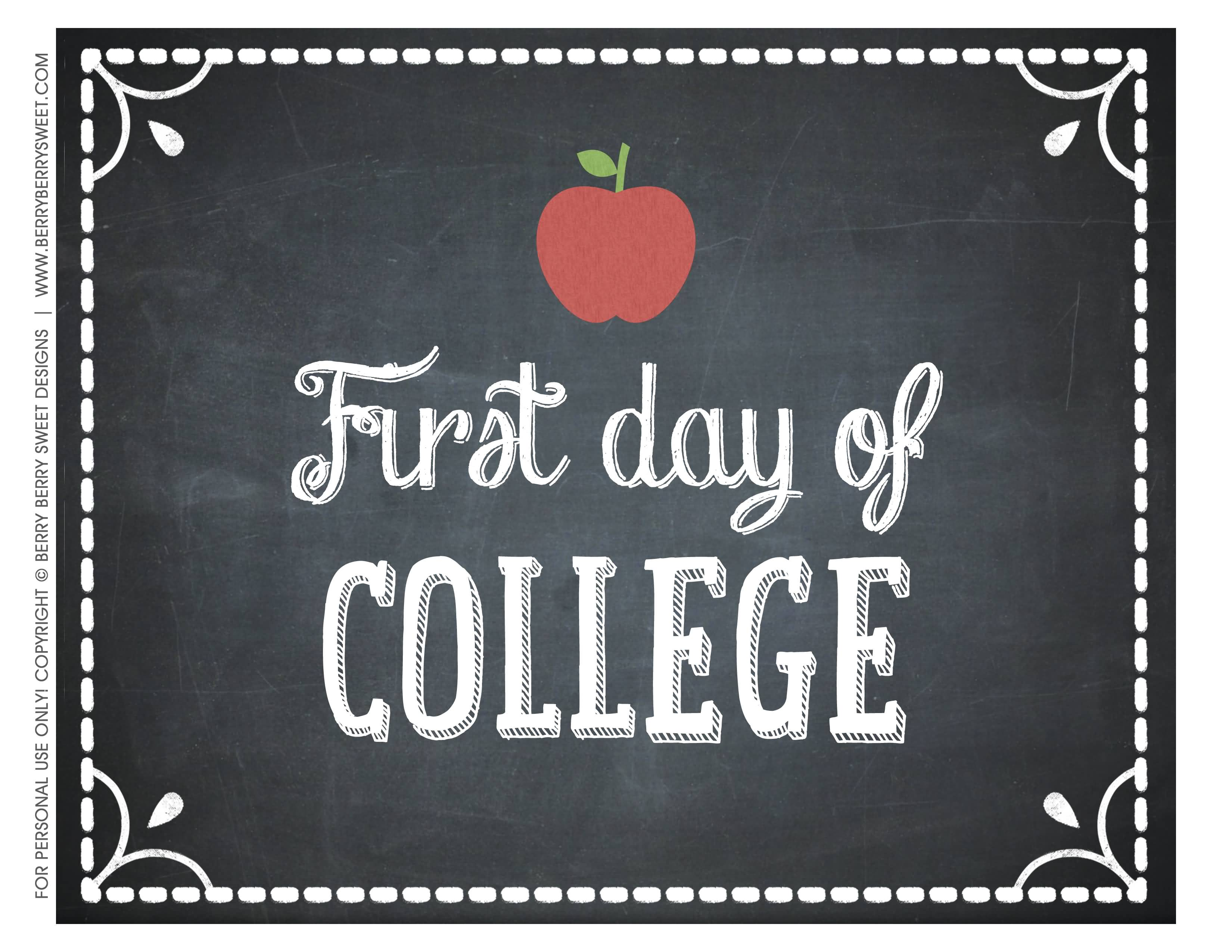 25 First Day Of College Quotes Sayings & Images | QuotesBae