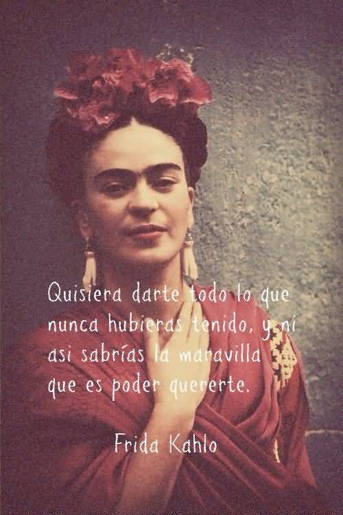 25 Frida Kahlo Quotes Spanish Pictures and Images   QuotesBae