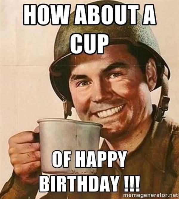 Funniest army birthday meme photo