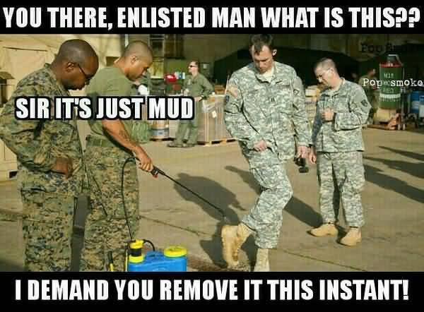 Funniest best funny army officer meme jokes