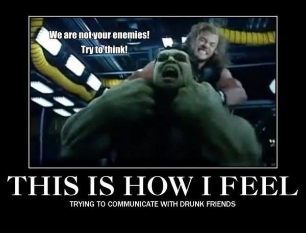 Funniest best thor and hulk meme joke