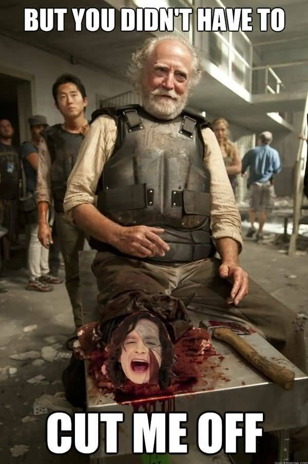 Funniest new walking dead memes jokes