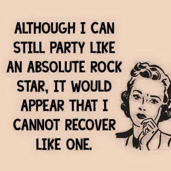 Funniest party like a rockstar meme image