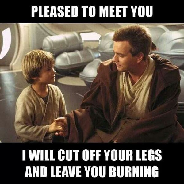 Funniest star wars memes young obi wan image