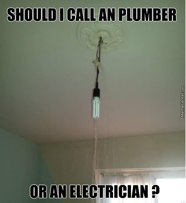 Funny Electrician Meme Funny Image Photo Joke 03
