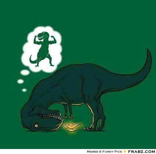 Funny T Rex Meme Image Photo Joke 01