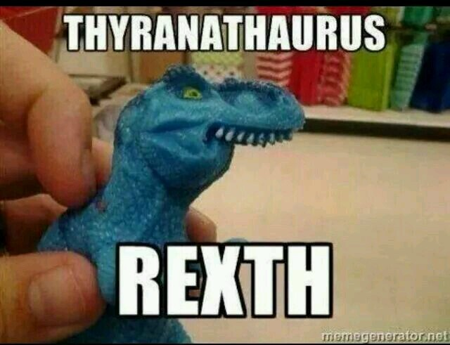 Funny T Rex Meme Image Photo Joke 12