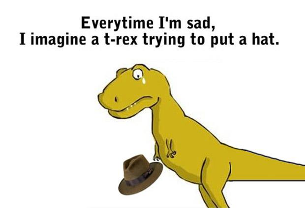 Funny T Rex Meme Image Photo Joke 13