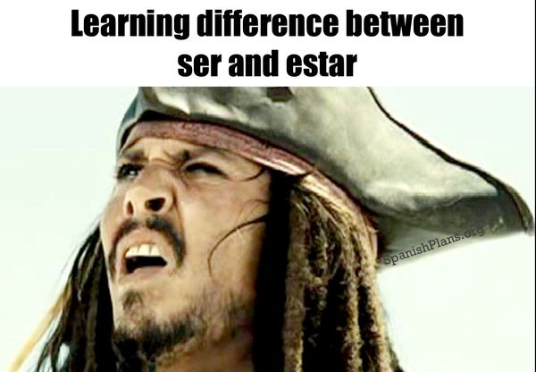 Funny be in learning spanish meme image