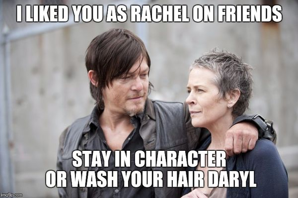 Funny carol walking dead meme jokes