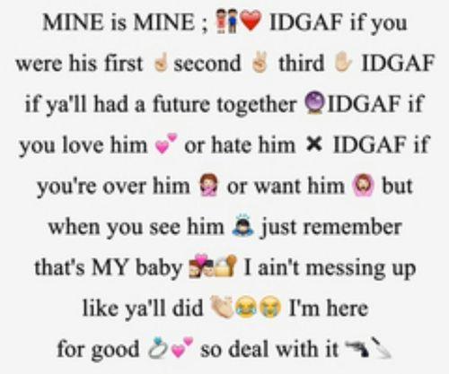 He Mine Quotes Meme Image 07 | QuotesBae